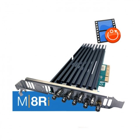 Softron M|8Ri (8 Channels Instant Replay, Dongle Included)