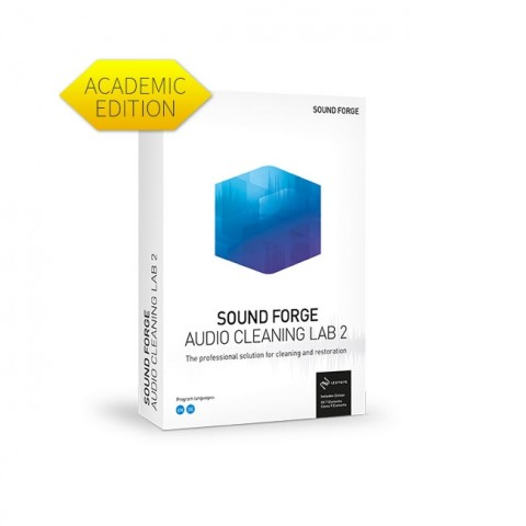 Magix Sound Forge Audio Cleaning Lab 2 - Academic ESD