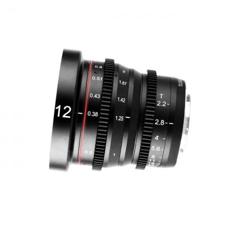 Meike Cinema Prime 12mm T2.2 M4/3 Lens