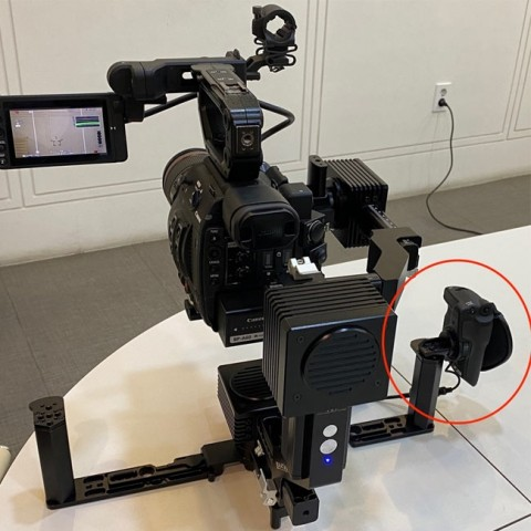 Netmedia Grip Relocator for Canon C200/C300