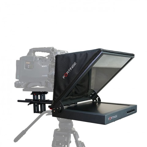 Fortinge PROS19-HB 19'' Studio Prompter Set with HDMI, VGA, BNC Input (High Brightness)