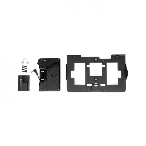 SmallHD Gold Mount Battery Bracket With Mounting Plate For 702 OLED