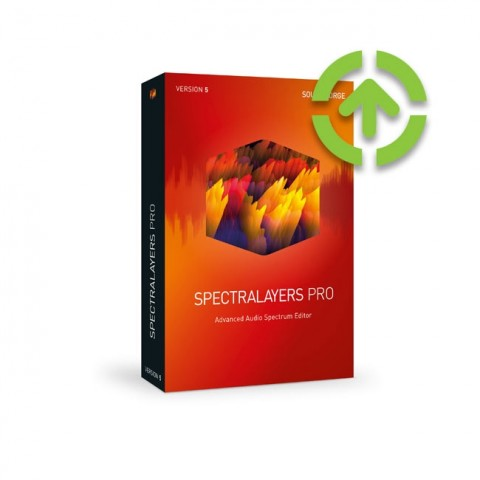 Magix SpectraLayers Pro 5 (Upgrade from Previous Version) ESD