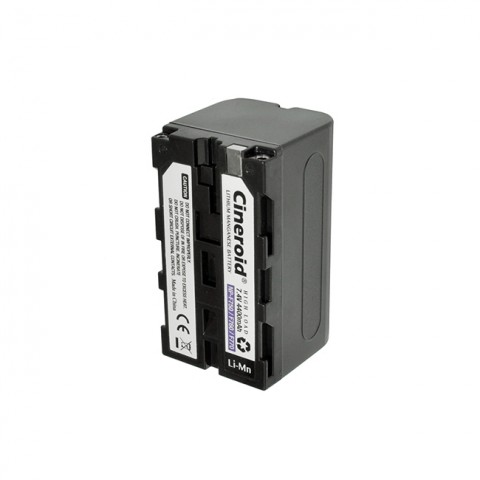 Cineroid NP-F750 type Li-Mn Battery (4400mA)