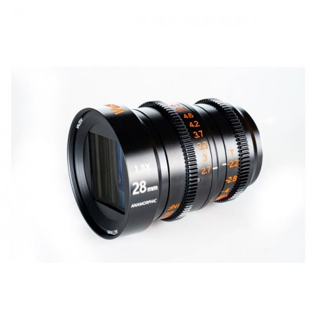 Vazen 28mm T/2.2 1.8X Anamorphic Lens for M4/3 Cameras